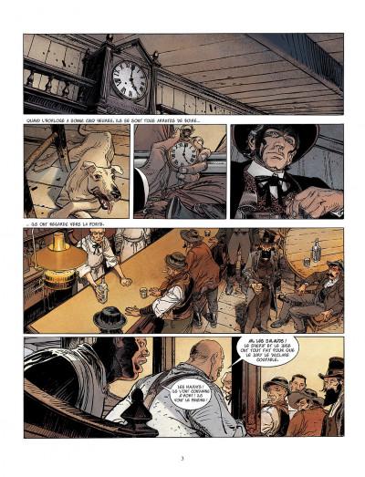 Page 3 bouncer tome 5 - la proie des louves