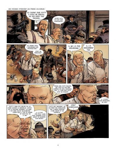 Page 4 bouncer tome 5 - la proie des louves