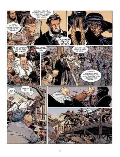 Page 6 bouncer tome 5 - la proie des louves