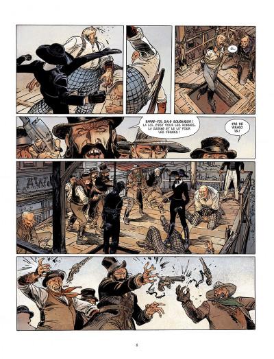 Page 8 bouncer tome 5 - la proie des louves
