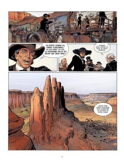 Page 9 bouncer tome 5 - la proie des louves