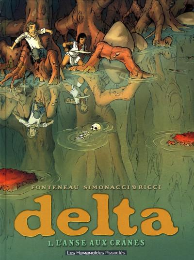 Couverture delta tome 1 - l'anse aux crânes