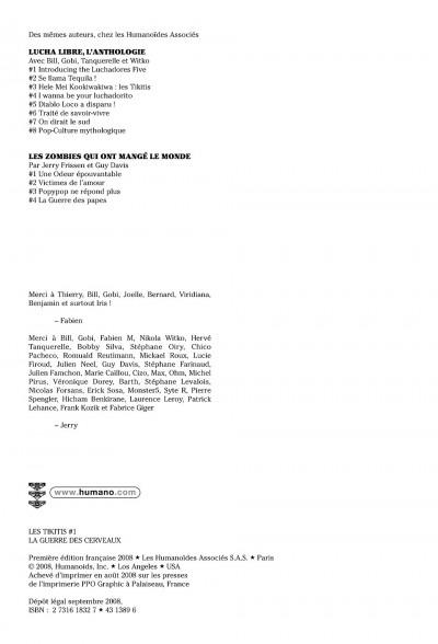 Page 2 les tikitis tome 1 - la guerre des cerveaux