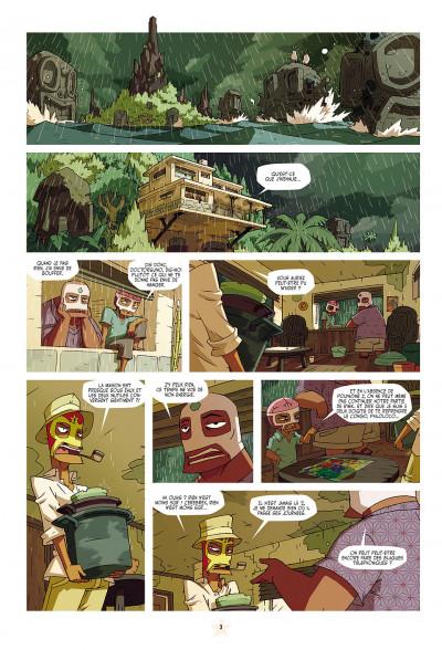 Page 3 les tikitis tome 1 - la guerre des cerveaux