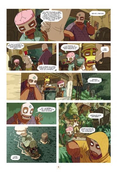 Page 4 les tikitis tome 1 - la guerre des cerveaux