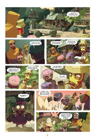 Page 5 les tikitis tome 1 - la guerre des cerveaux