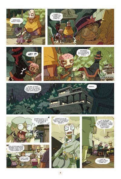 Page 6 les tikitis tome 1 - la guerre des cerveaux