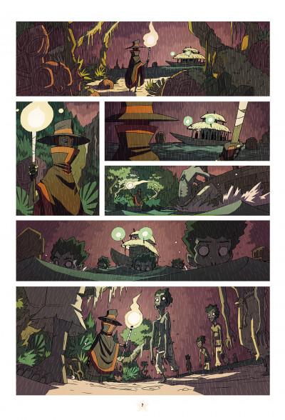 Page 7 les tikitis tome 1 - la guerre des cerveaux