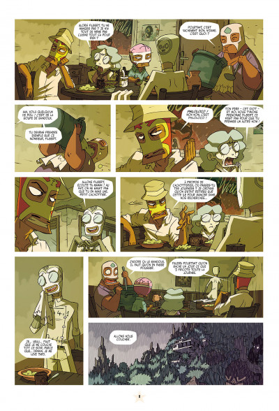 Page 8 les tikitis tome 1 - la guerre des cerveaux