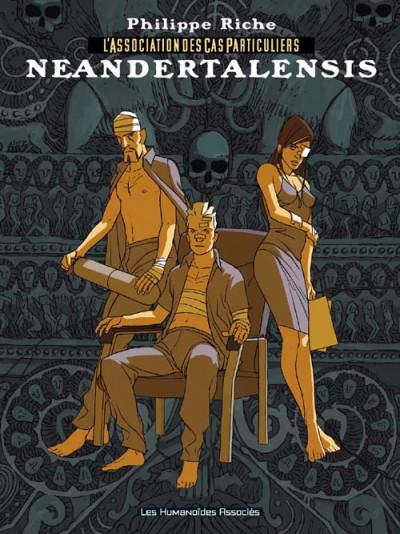 Couverture l'association des cas particuliers tome 2 - neandertalensis