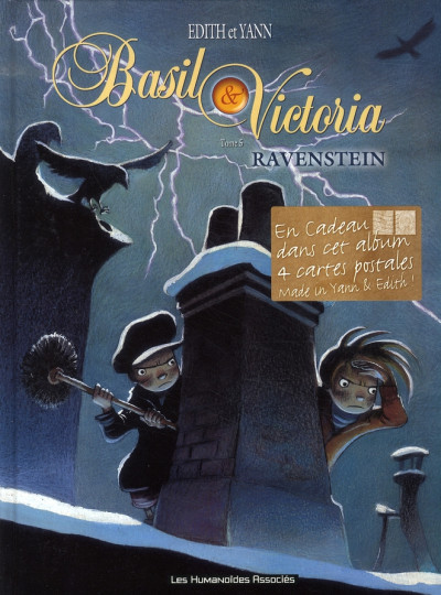 Couverture basil & victoria tome 5 - ravenstein
