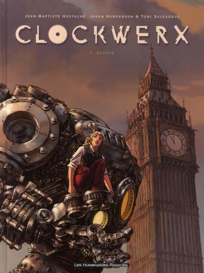 image de clockwerx tome 1 - genèse