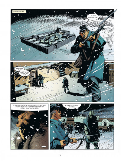 Page 3 mille visages tome 5 - extermination