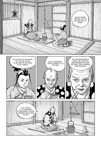 Page 8 tengu-do tome 1 - disciples