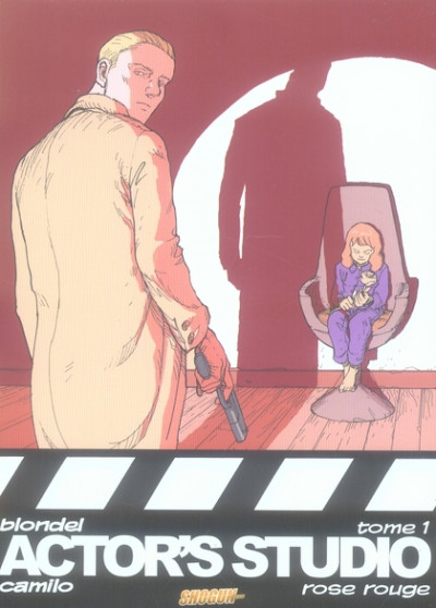 Couverture actor's studio tome 1 - rose rouge