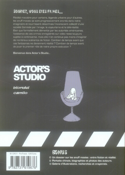 Dos actor's studio tome 1 - rose rouge