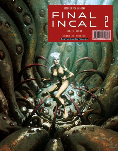 Couverture Final incal tome 2 - Louz de Garra (Version Luxe)