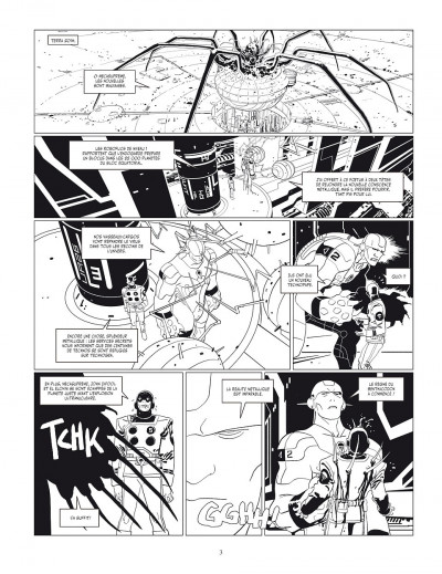 Page 3 Final incal tome 2 - Louz de Garra (Version Luxe)