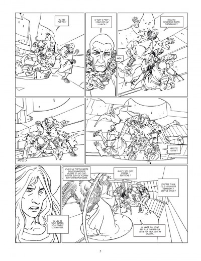 Page 5 Final incal tome 2 - Louz de Garra (Version Luxe)