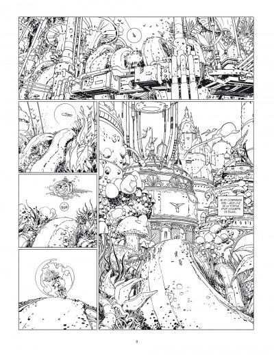 Page 8 Final incal tome 2 - Louz de Garra (Version Luxe)