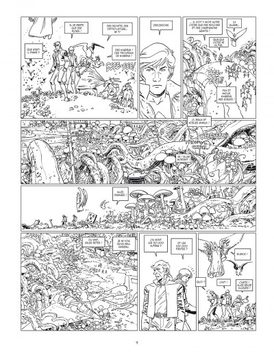 Page 9 Final incal tome 2 - Louz de Garra (Version Luxe)