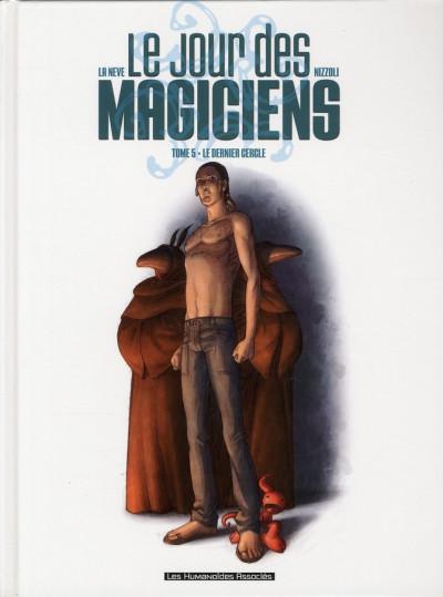 Couverture le jour des magiciens tome 5 - Le dernier cercle
