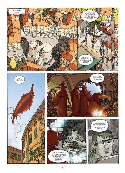 Page 5 le jour des magiciens tome 5 - Le dernier cercle