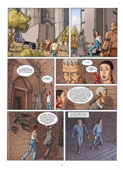 Page 9 le jour des magiciens tome 5 - Le dernier cercle