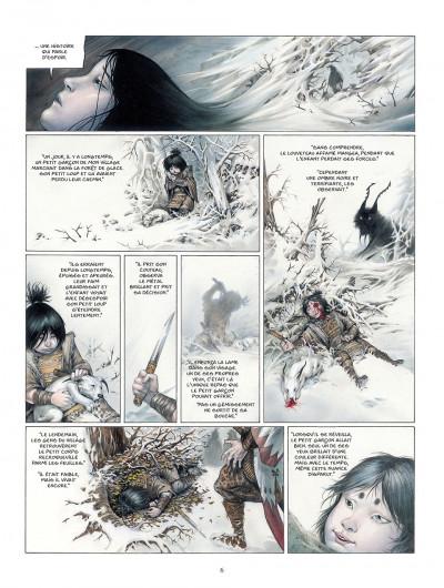 Page 6 la légende des nuées écarlates tome 2