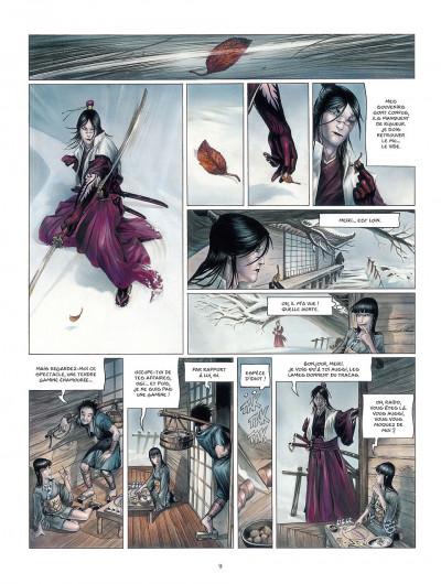 Page 9 la légende des nuées écarlates tome 2