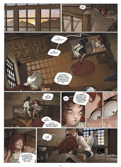 Page 9 le manoir des murmures tome 1 - sarah