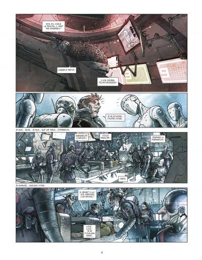 Page 9 final incal tome 1 - les quatre john difool