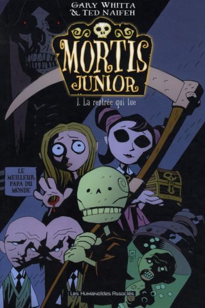 Couverture mortis junior tome 1 - la rentrée qui tue