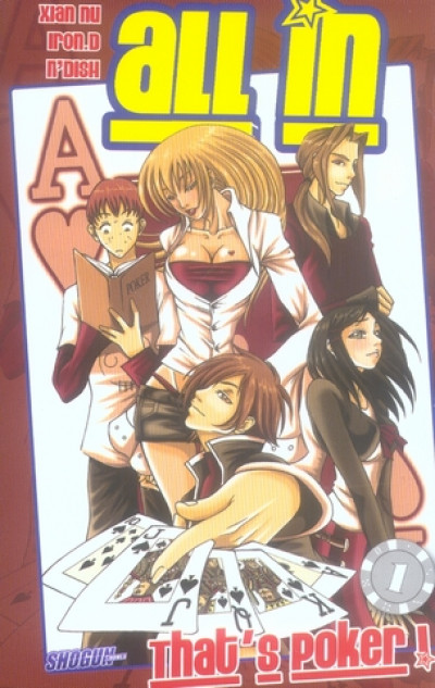 Couverture all in tome 1 - that's poker !