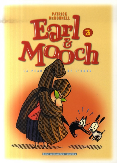 Couverture earl et mooch tome 3 - la peau de l'ours