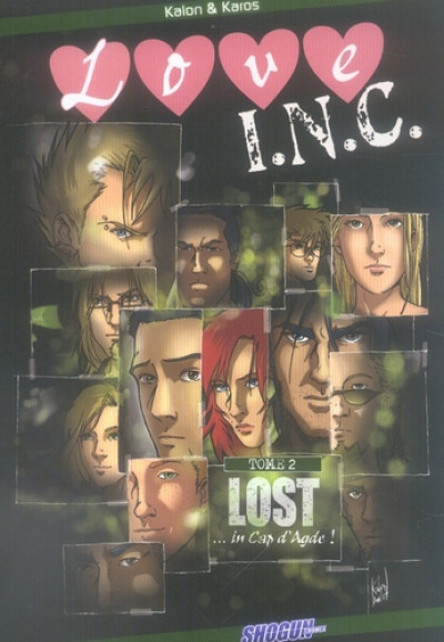 Couverture love i.n.c. tome 2 - Lost... in Cap d'Agde !