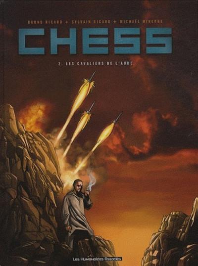 Couverture chess tome 2 - les cavaliers de l'aube