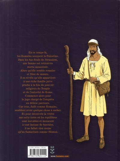 Dos le samaritain ; bethsabée de jérusalem