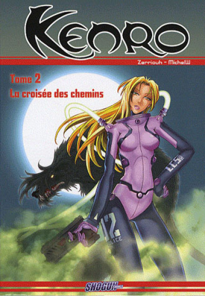 Couverture kenro tome 2