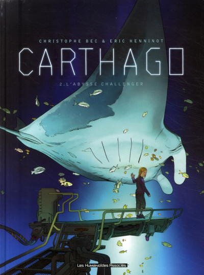 Couverture carthago tome 2 - l'abysse challenger