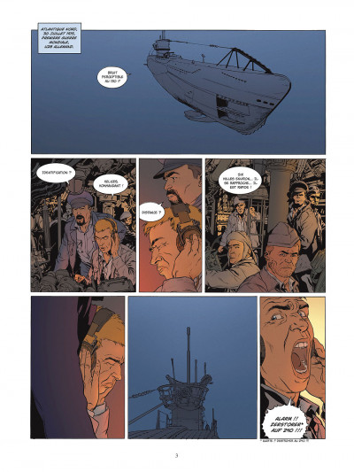 Page 3 carthago tome 2 - l'abysse challenger