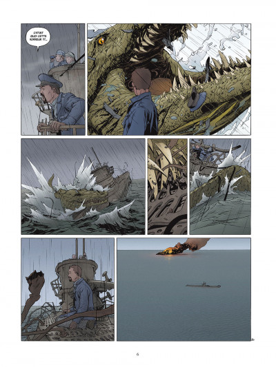 Page 6 carthago tome 2 - l'abysse challenger