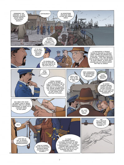 Page 7 carthago tome 2 - l'abysse challenger