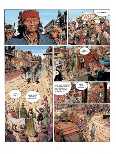 Page 4 bouncer tome 6 - la veuve noire