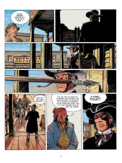 Page 8 bouncer tome 6 - la veuve noire