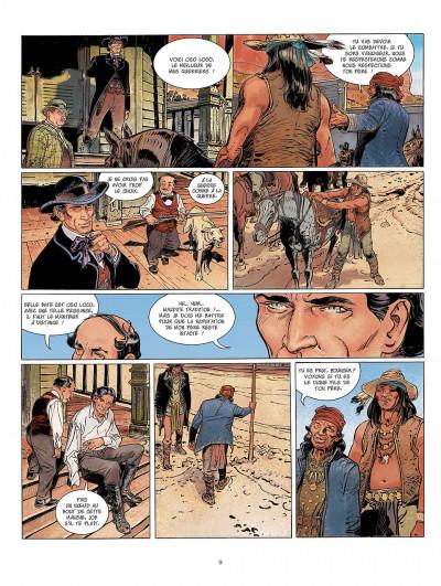Page 9 bouncer tome 6 - la veuve noire