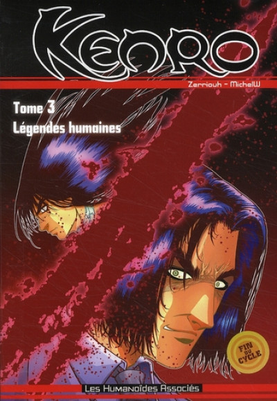 Couverture kenro tome 3