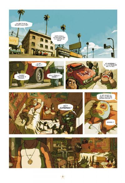Page 3 luchadores five tome 1 - la cité des hommes brisés
