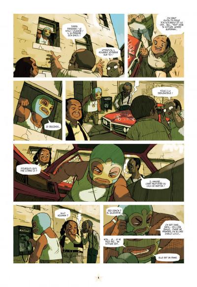 Page 4 luchadores five tome 1 - la cité des hommes brisés