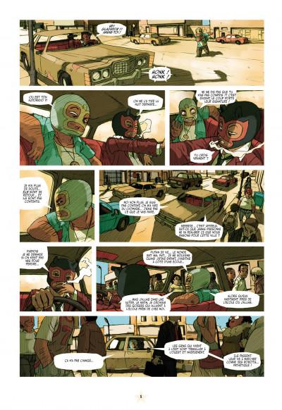 Page 5 luchadores five tome 1 - la cité des hommes brisés